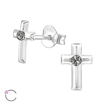 Korsa Crystal från Swarovski® - 925 Sterling Silver öra dubbar - W32772x