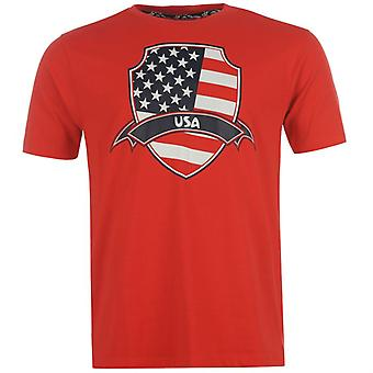 USA 2014 FIFA Flag Tee (Red)