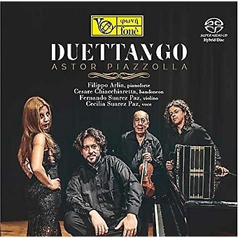 Astor Piazzola - Duettango [CD] USA import