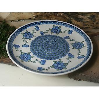 Lunch plate ø 25.5 cm, tradition 9obr - polska pottery - BSN 15085