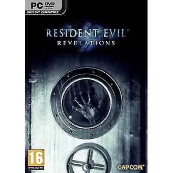 Resident Evil afsløringer (PC DVD)-nye