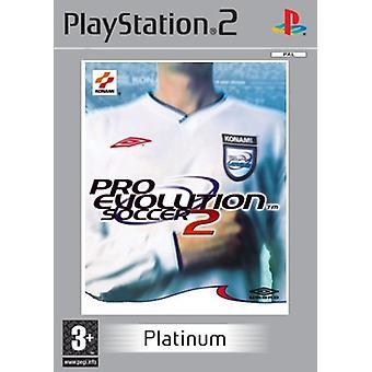 Pro Evolution Soccer 2 Platinum (PS2) - Nouvelle usine scellée