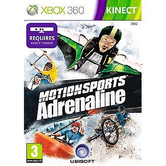 Motionsports Adrenaline - Kinect Kompatibel (Xbox 360) - Neu