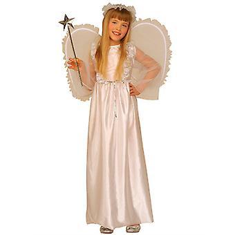 Engel Kostüm (Kleid Flügel Halo) Kinder