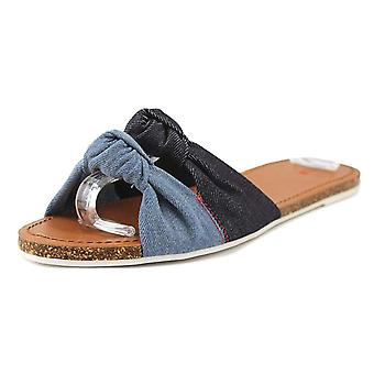 ED by Ellen Womens Shiri Fabric Open Toe Casual Slide Sandals
