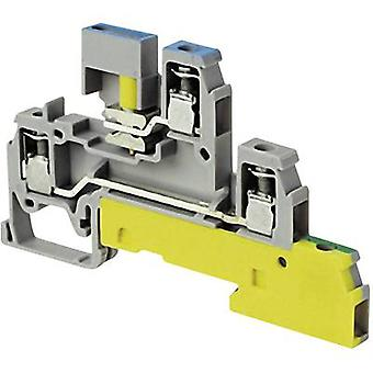 ABB 1SNA 110 439 R2200 Industrial terminal block 6 mm Screws Configuration: Terre, N, L Grey 1 pc(s)