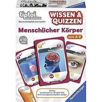 Ravensburger tiptoi® tietoa & Quizzen: ihmiskeho