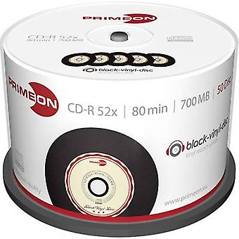 Primeon 2761108 tom CD-R 80 700 MB 50 PC (er) spindel vinyl