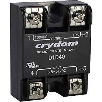 Crydom SSR D1D07 Current load (max.): 7 A Switching voltage (max.): 100 V DC 1 pc(s)