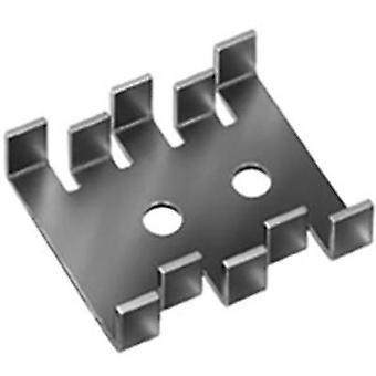פישר האלקטרונית FK 210 SA-CB מפזר חום 18 K/W (L x W x) 30 x 25.4 x 7.9 mm אויל 32, כדי 220, כדי 126