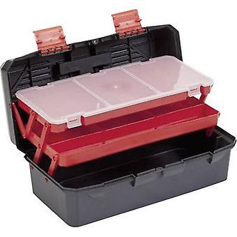 Alutec 56300 Caja de herramientas (vacío) Plástico Negro, Naranja