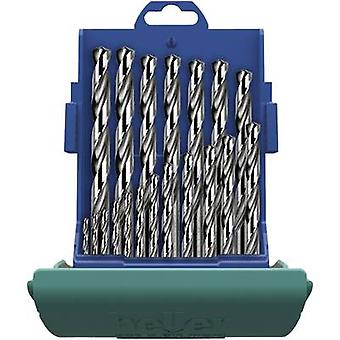 Heller 21964 8 HSS metalen twist boor set 25-delig gesneden DIN 338 cilinder schacht 1 set