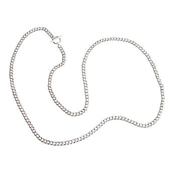 Silver chain sterling silver solid 925 Silver necklace 90 cm
