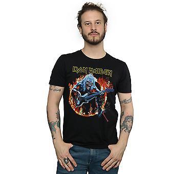 Iron Maidenin pelko elää Flames t-paita