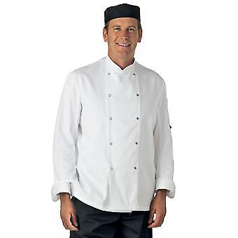 Dennys długi rękaw kucharzy kurtka - DD08
