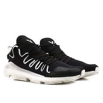 Y3 men's low top Kusari black sneakers shoes