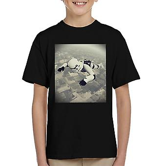 Original Stormtrooper Skydiving Kid's T-Shirt