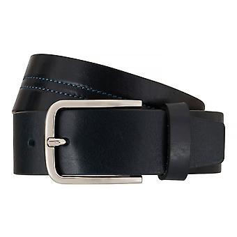 OTTO KERN belts men's belts leather belt blue 7662