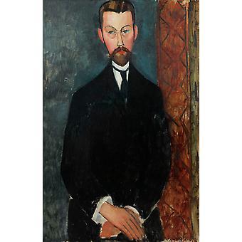 Paul Alexandre, Amedeo Modigliani, 60x40cm