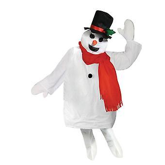 Sistema del traje del muñeco de nieve.