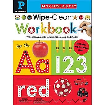Veeg schoon werkmappen: Pre-K (scholastische kinderen)