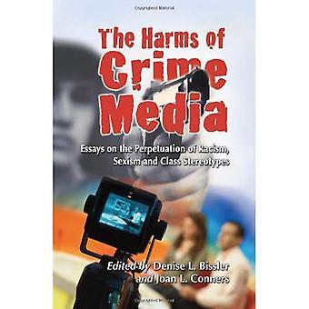 Skadene av kriminalitet Media