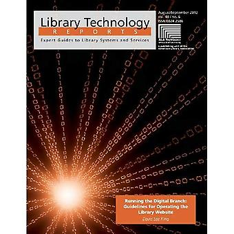 Running the Digital Branch: Guidelines for Operating the Library Website