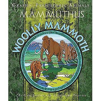 Les animaux préhistoriques graphiques: Mammouth laineux (graphiques animaux préhistoriques)