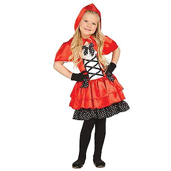 Filles Sassy Little Red Riding Hood costumé
