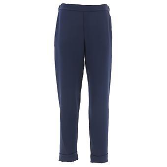 P.a.r.o.s.h. D230162x012 Dames's Blauwe Polyester Broek
