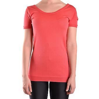 Elisabetta Franchi Ezbc050028 Naisten's Punainen Viskoosi T-paita
