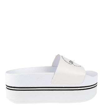 Ash SPOT BIS Chunky Soled Sandals White