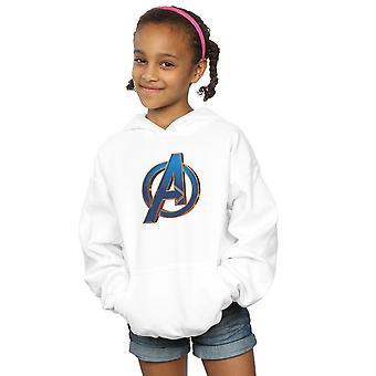 Marvel Girls Avengers Endgame Kahramanca Logo Hoodie