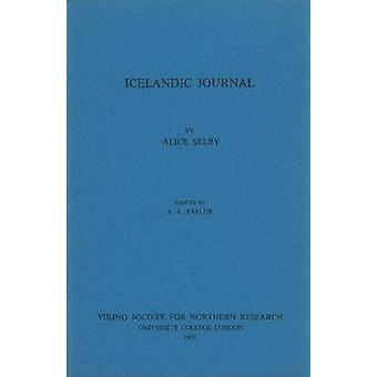 Icelandic Journal by Alice Selby - 9780903521048 Book