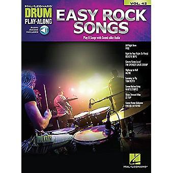 Drum Play-Along Volume 42 - Easy Rock Songs (Book/Online Audio) by Dru