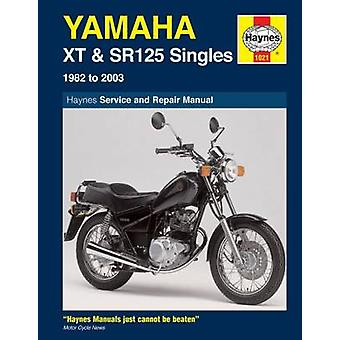Yamaha XT and SR125 Singles Service and Repair Manual - 1982 to 2003 (