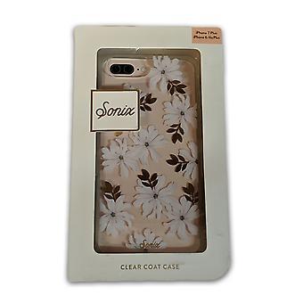 Sonix Clear Coat Caes for Apple iPhone 7 Plus, 6/6s Plus - Gardenia