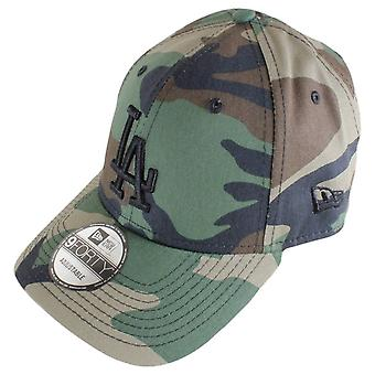 Ny æra 9FORTY Essential Los Angeles Dodgers Cap-Woodland camo/sort