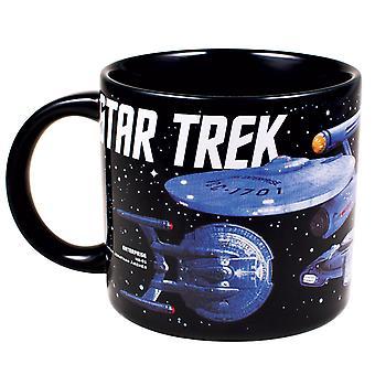 Mok-Star Trek-Starships ruimteschip nieuwe geschenken speelgoed gelicentieerd 4378