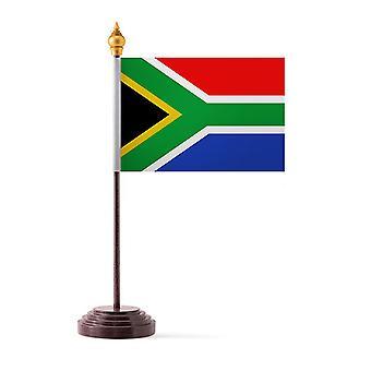 Etelä-Afrikka taulukon lippu kiinni ja pohja