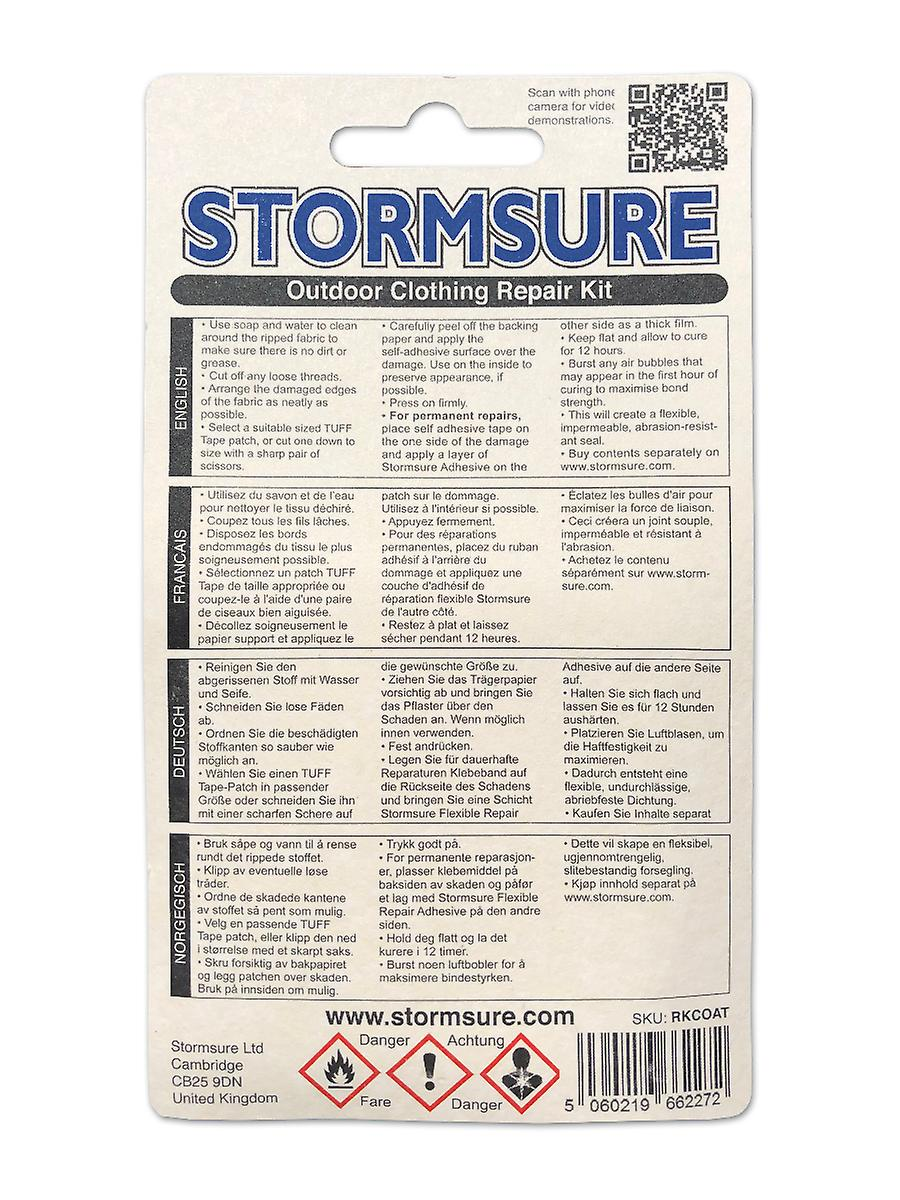 Stormsure Outdoor Clothing Repair Kit