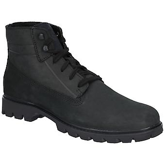 CAT Lifestyle Mens Basis Lace Up Boot Zwart
