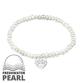 Tree Of Life - 925 Sterling Silver Chain Bracelets - W29437x