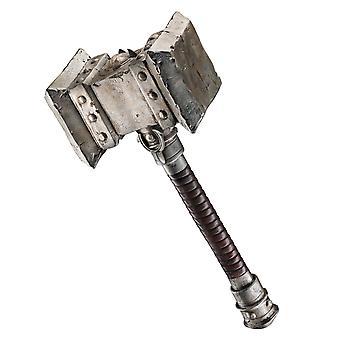ウォー クラフト デラックス武器メンズ衣装 Doomhammer ハンマーのドゥームの世界
