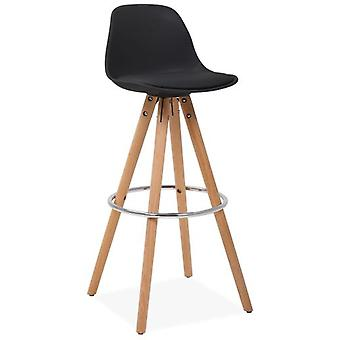 Käki Mid Back Black Stool Käki (Furniture , Stools)