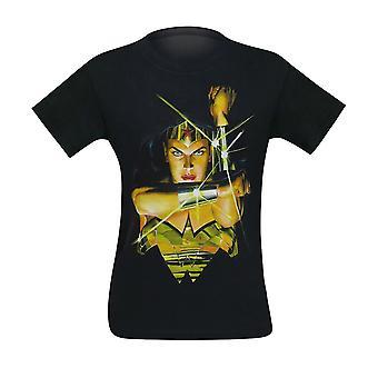 Mulher maravilha Alex Ross deflect homens ' s T-shirt