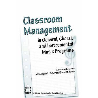 Klassenraum-Management im allgemeinen - Chor-und Instrumentalmusik Progr