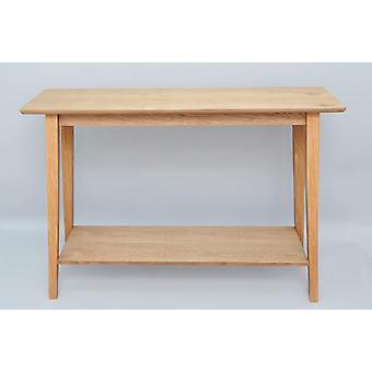 Tyylikäs puinen eteinen konsoli sivu pöytä 100x72cm
