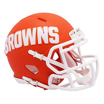 Riddell Speed Mini Football Helmet - NFL AMP Cleveland Browns
