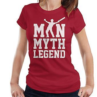 Ben Stokes Mann Mythos Legende Cricket England Frauen's T-Shirt